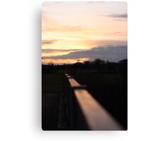 Sunset MK 2 Canvas Print