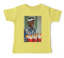 Warm smile and colourful drinks Baby Tee