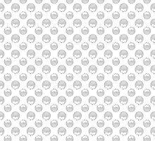 Little Hedgehog Pattern by xanbod
