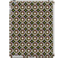 Modern abstract circle pattern iPad Case/Skin