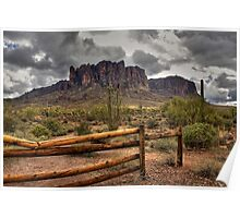 Gateway to the Superstitions Poster