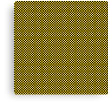 Mosaic yellow black Canvas Print