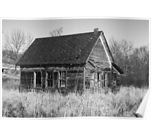 One Room School House Poster