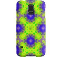 flame pattern blue yellow Samsung Galaxy Case/Skin