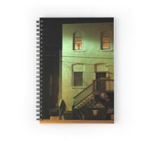Night Alley And Building Spiral Notebook