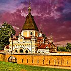 Church, part of Kievo-Pecherskoj of Monastery by LudaNayvelt
