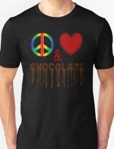 Peace Love & Chocolate T-Shirt