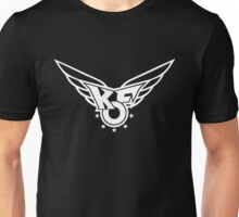 King of Fighters 96 logo B&W Unisex T-Shirt