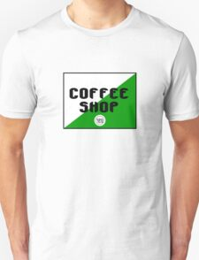 Amsterdam coffee shop geek funny nerd T-Shirt