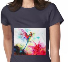"""Hummingbid"" Womens Fitted T-Shirt"