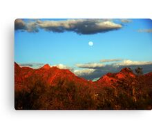 Arizona Moon Canvas Print