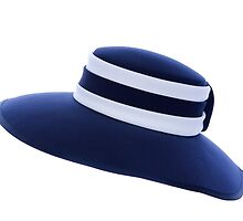 LADY'S  NAVY AND WHITE  HAT by Rexcharles