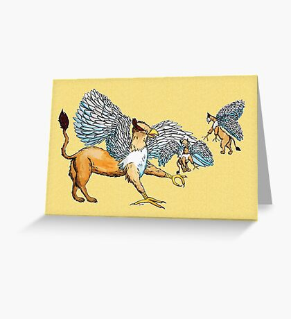 Griffins Family Greeting Card