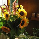 Sunflowers by Hans Bax