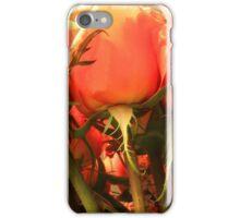 Peach Roses iPhone Case/Skin