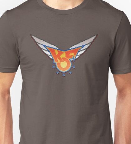 King of Fighters 96 logo (pixel) Unisex T-Shirt