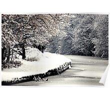 A Snowy Walk Poster