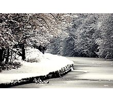 A Snowy Walk Photographic Print