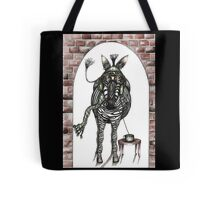 The flying zebra who loved coffee Tote Bag