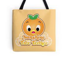 New Sunshine Tree Terrace with Orange Bird Tote Bag