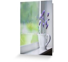 it was a day filled with the glow of ordinary things... Greeting Card