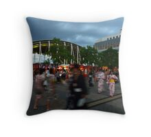 Fireworks Await! - Takamatsu Throw Pillow