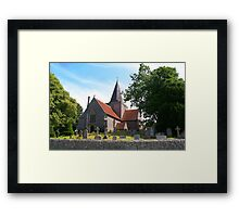 St. Andrew's Church, Alfriston Framed Print