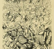 Through the Looking Glass Lewis Carroll art John Tenniel 1872 0158 Then Came the Horses by wetdryvac