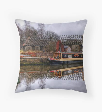 Barge Throw Pillow