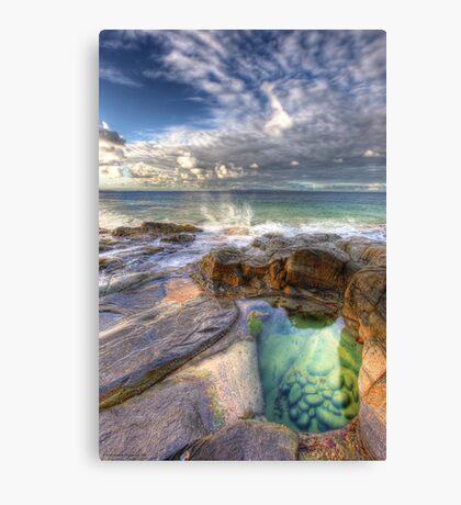 Emerald Pools Noosa Canvas Print
