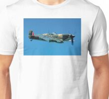 Supermarine Spitfire IIa P7350/QV-B Unisex T-Shirt