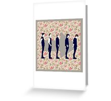 Flower Direction Greeting Card