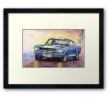 Ford Mustang GT 350 1966 Framed Print