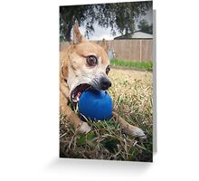 My Dog Is A Zombie - Killer Danos Greeting Card
