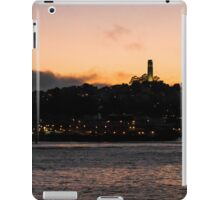 Coit Tower Sunset San Francisco iPad Case/Skin