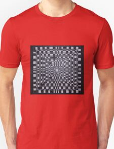 Checkered Abyss Unisex T-Shirt