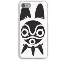 San's Mask (Princess Mononoke) iPhone Case/Skin