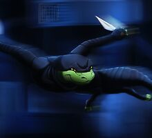 Gecko Ninja by whiteicepanther