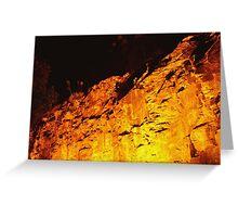 Kangaroo Point Cliffs at Night Greeting Card
