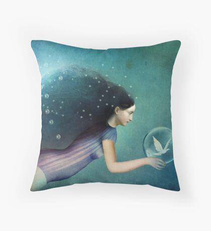 Take Me There Throw Pillow