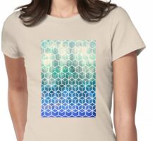 The Geometry of Bees and Boxes Womens Fitted T-Shirt