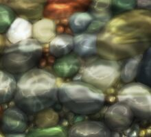 Pebbles In The Water by whiteicepanther