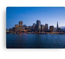 San Francisco Evening Canvas Print