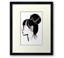 Françoise Framed Print