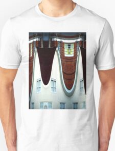 Above March Hare's House Unisex T-Shirt