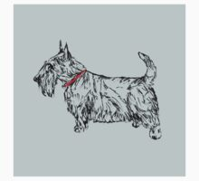 Pen & Ink Scottie Baby Tee
