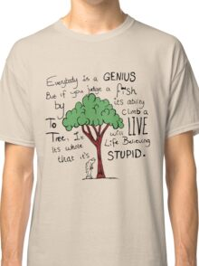 """Einstein's Fish"" Classic T-Shirt"