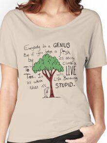 """Einstein's Fish"" Women's Relaxed Fit T-Shirt"