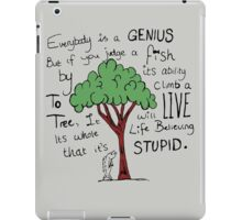 """Einstein's Fish"" iPad Case/Skin"