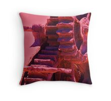 Harsh Destruction Throw Pillow